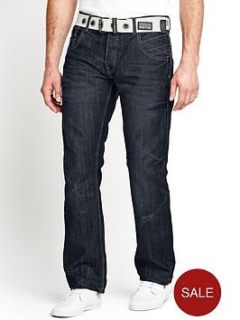 crosshatch-mens-hornet-straight-belted-jeans-darkwash