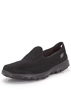 skechers-go-walk-2-shoes-black