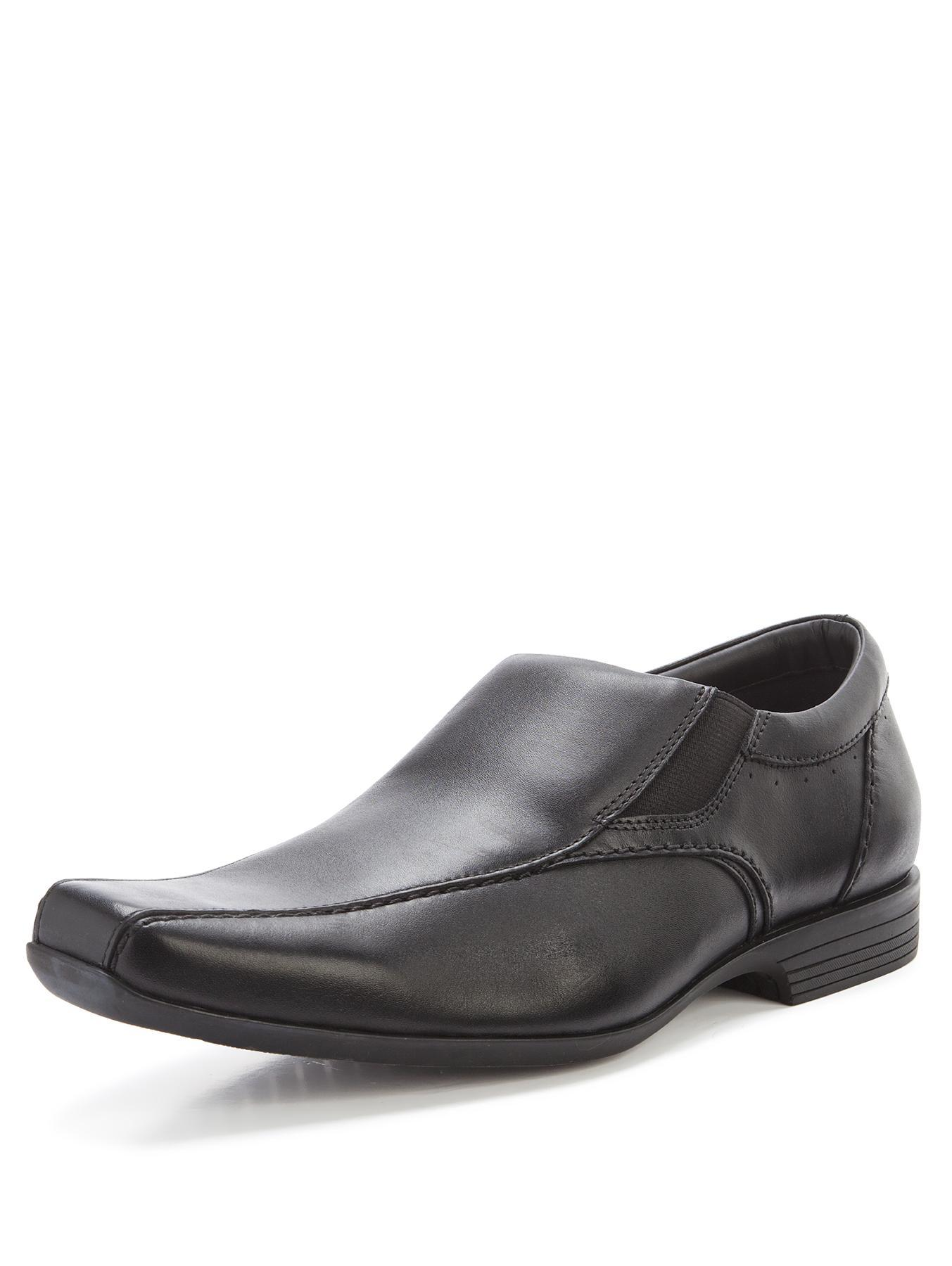 Clarks Forbes Step Slip On Shoes - Black, Black