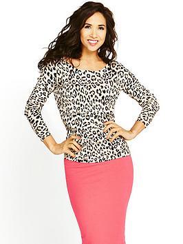 myleene-klass-leopard-print-sweater
