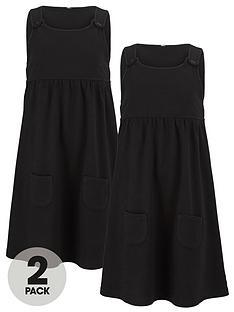 top-class-girls-jersey-tab-pinafores-2-pack