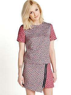fearne-cotton-jacquard-boxy-crop-top