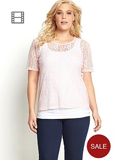 lace-short-sleeve-shell-top