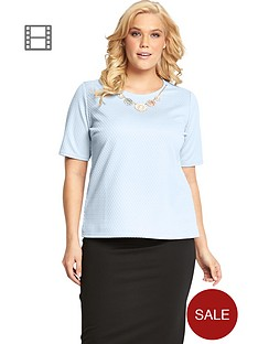 boxy-textured-jersey-necklace-trim-top