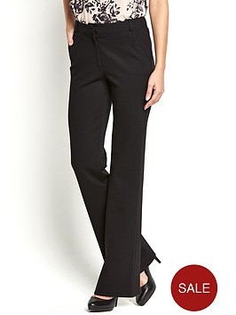 south-petite-ponte-bootcut-trousers