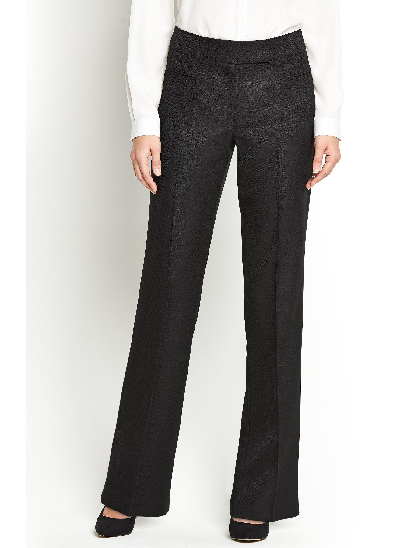 South Mix and Match Bootcut Trousers - Black, Black