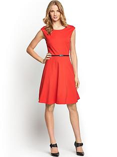 south-tall-fit-and-flare-ponte-dress