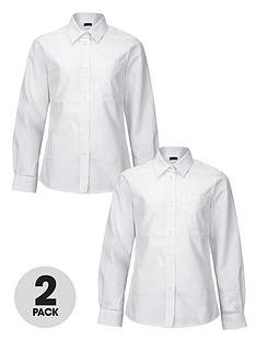 top-class-girls-long-sleeved-premium-non-iron-shirts-2-pack