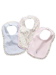 ralph-lauren-baby-girls-bibs-3-pack
