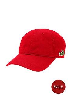 lacoste-cap-red