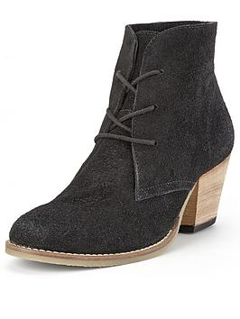 foot-cushion-lace-up-heeled-suede-boots