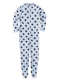 ladybird-toddler-boys-star-fleece-all-in-one