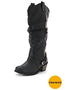 so-fabulous-alexia-quilted-western-calf-boots-extra-wide-fit-black