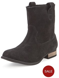 foot-cushion-beatrice-suede-slouch-ankle-boots-black