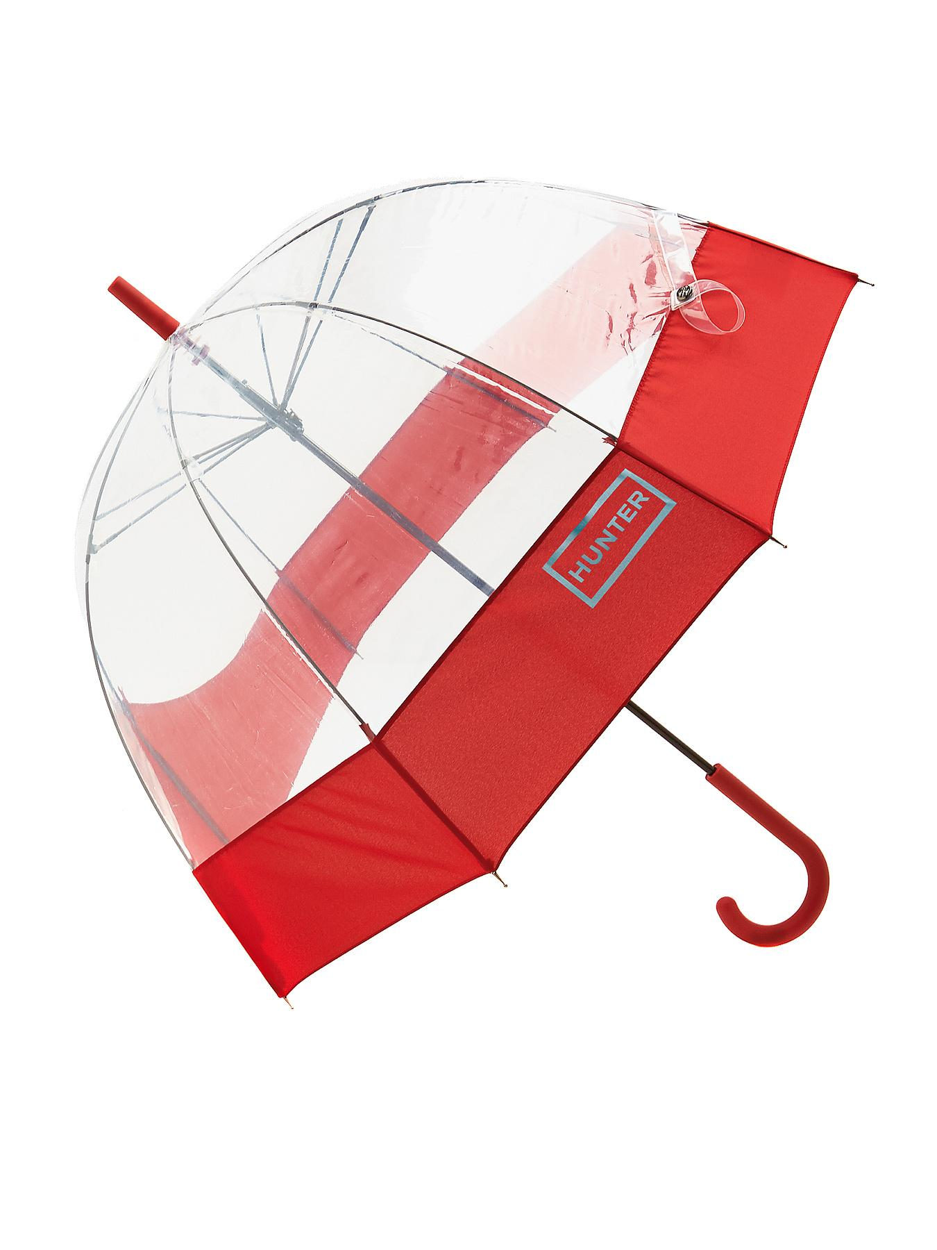 Hunter Bubble Umbrella, Plum,Red