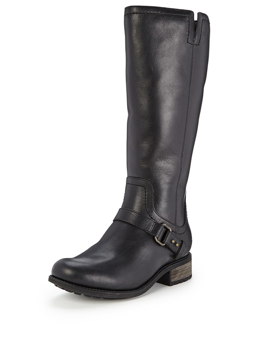 87ca581d367 Ugg Black Leather Riding Boot - cheap watches mgc-gas.com
