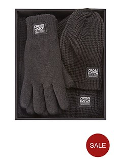 crosshatch-hat-scarf-and-glove-set
