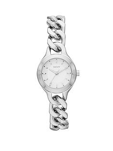 dkny-chamber-stainless-steel-chain-style-bracelet-ladies-watch-24mm