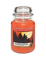 Large Jar Amber Moon Candle