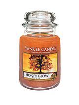 Large Jar Honey Glow Candle