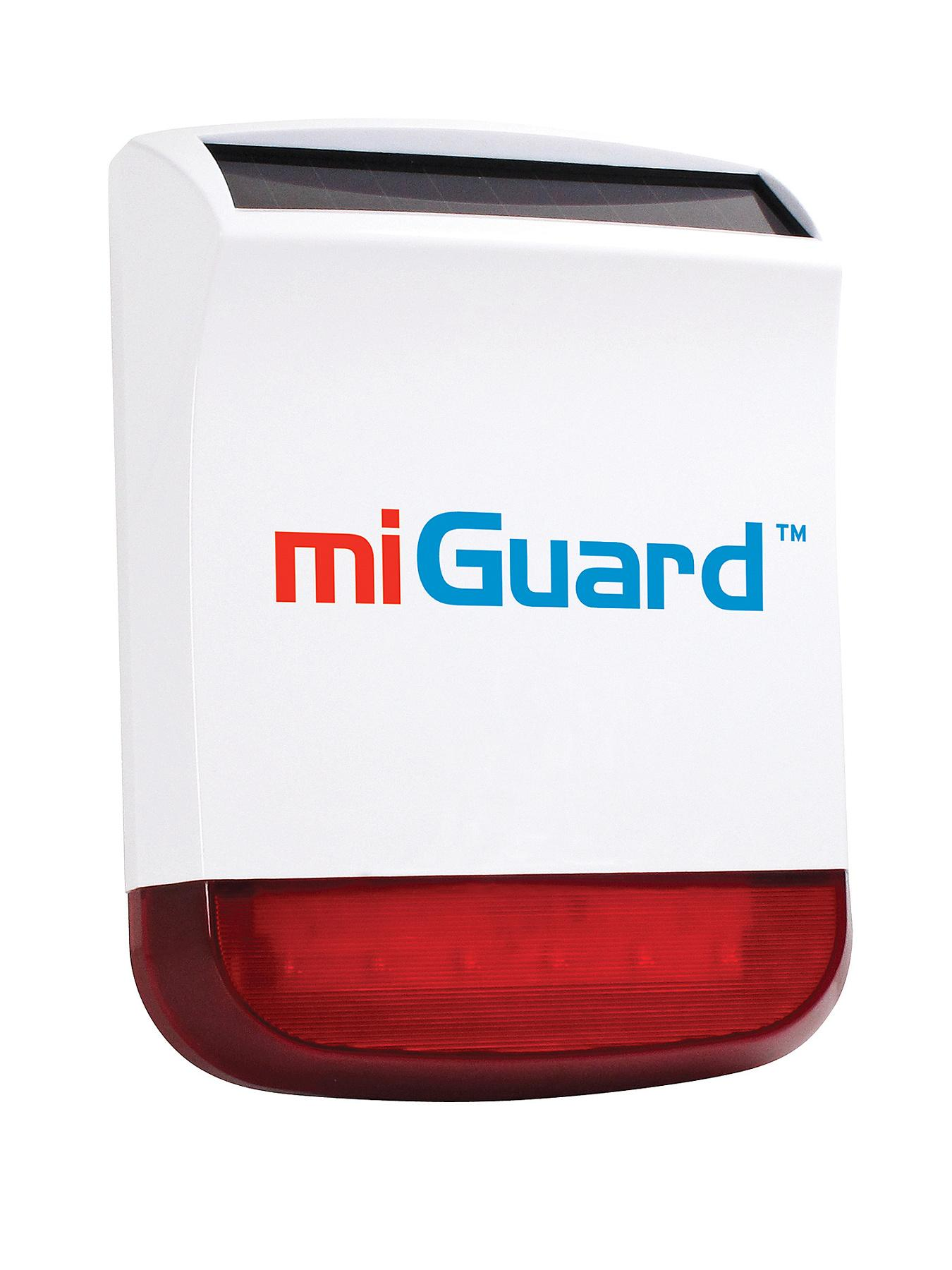 miGuard Wireless Solar Powered Siren