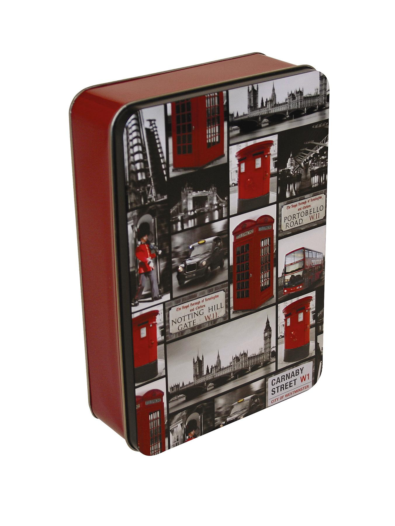 Iconic London Tin with 300g Shortbread Biscuits