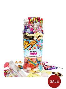 personalised-retro-sweet-jar