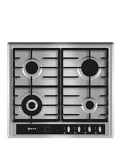 neff-t23r46n0-60-cm-built-in-gas-hob-stainless-steel