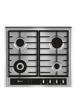 neff-t23r46n0-60cm-built-in-gas-hob-stainless-steel