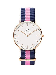 daniel-wellington-rose-gold-tone-coloured-strap-ladies-watch