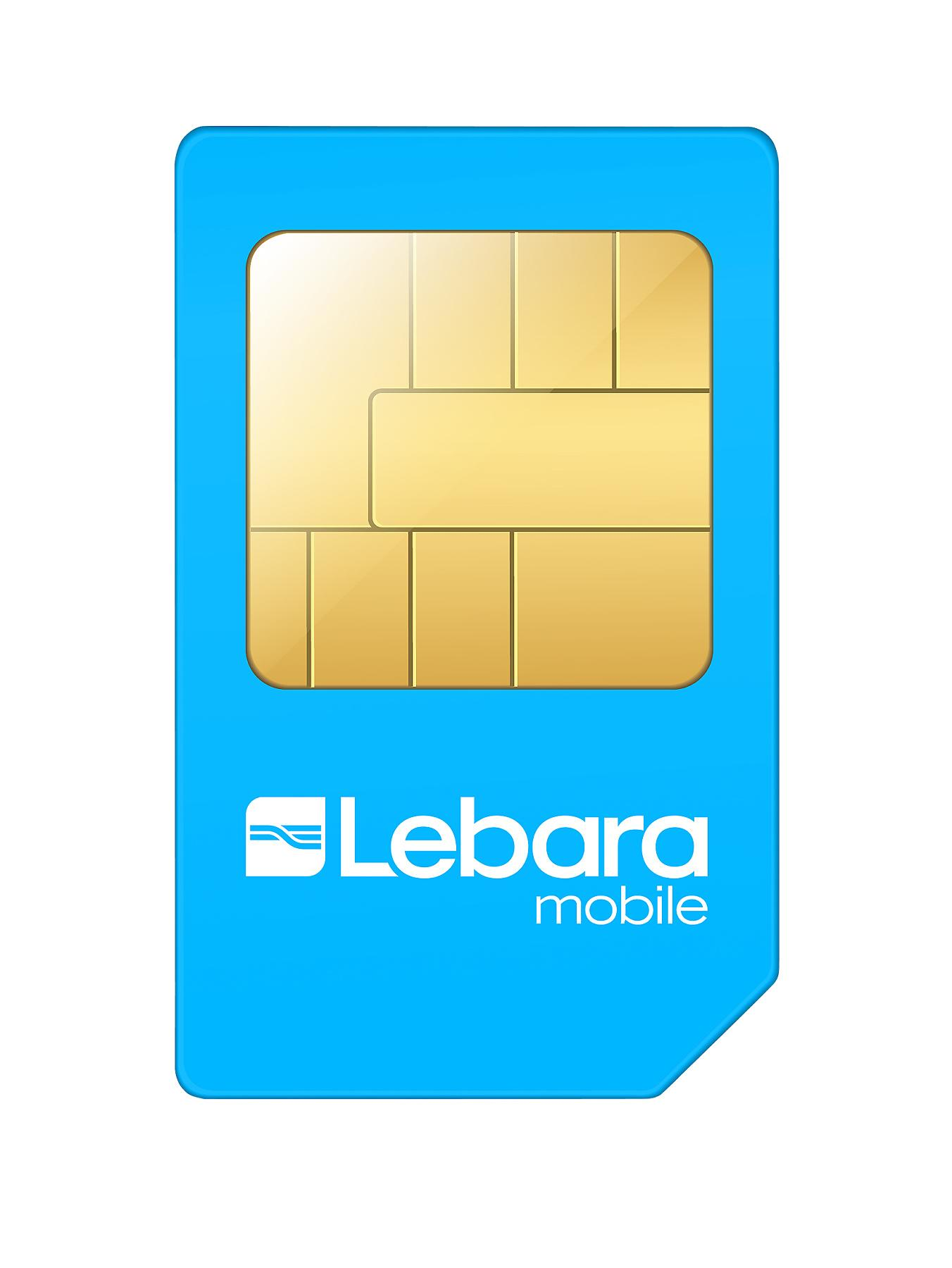 Lebara Combi Sim Card Pre-Loaded