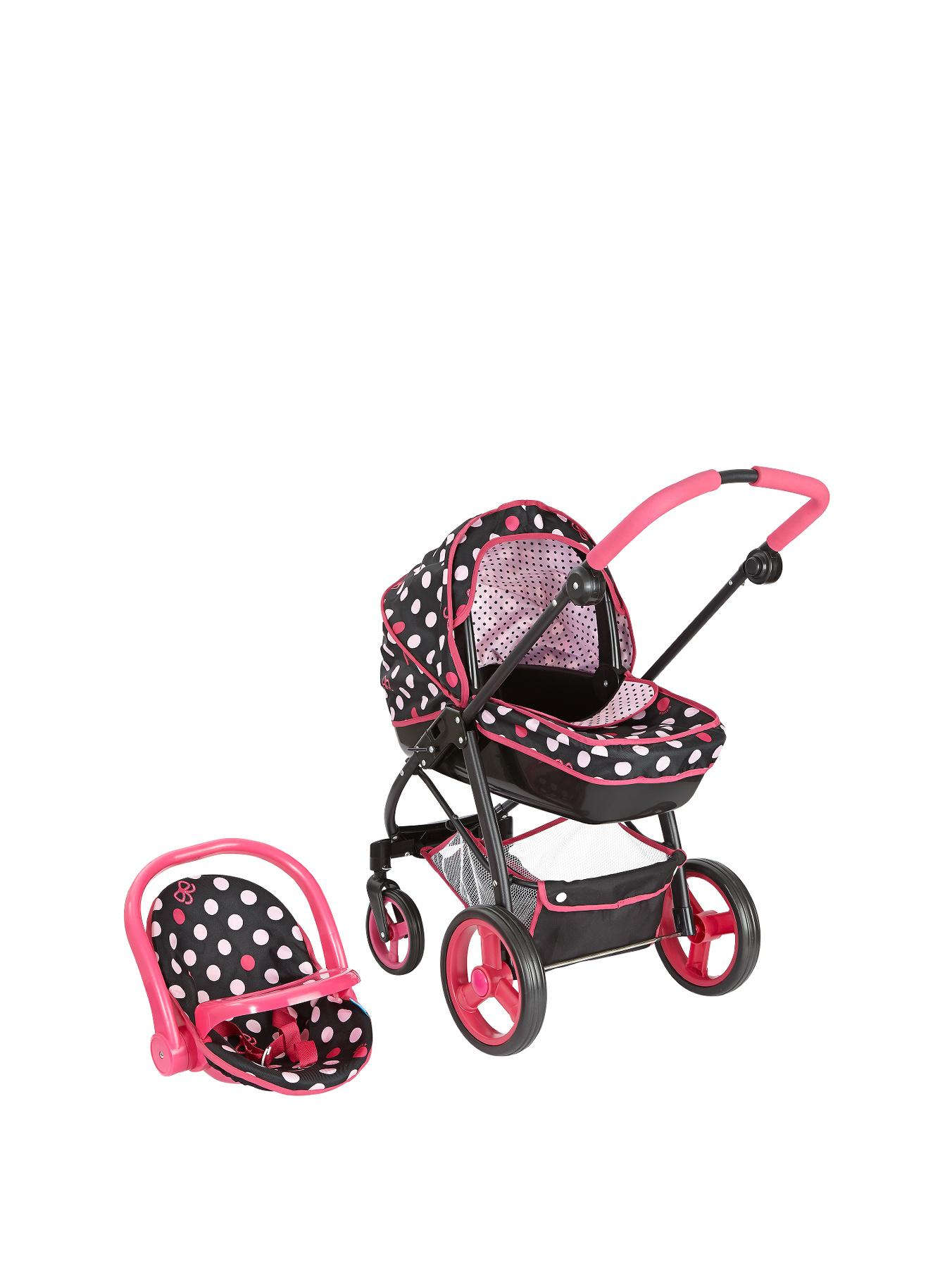 Hauck Pink Lady Doll Georgia 6-in-1 Travel System