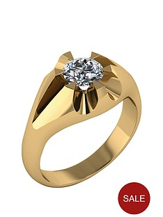 moissanite-9-carat-gold-mens-ring