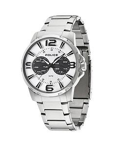 police-visionary-white-multi-dial-stainless-steel-bracelet-mens-watch