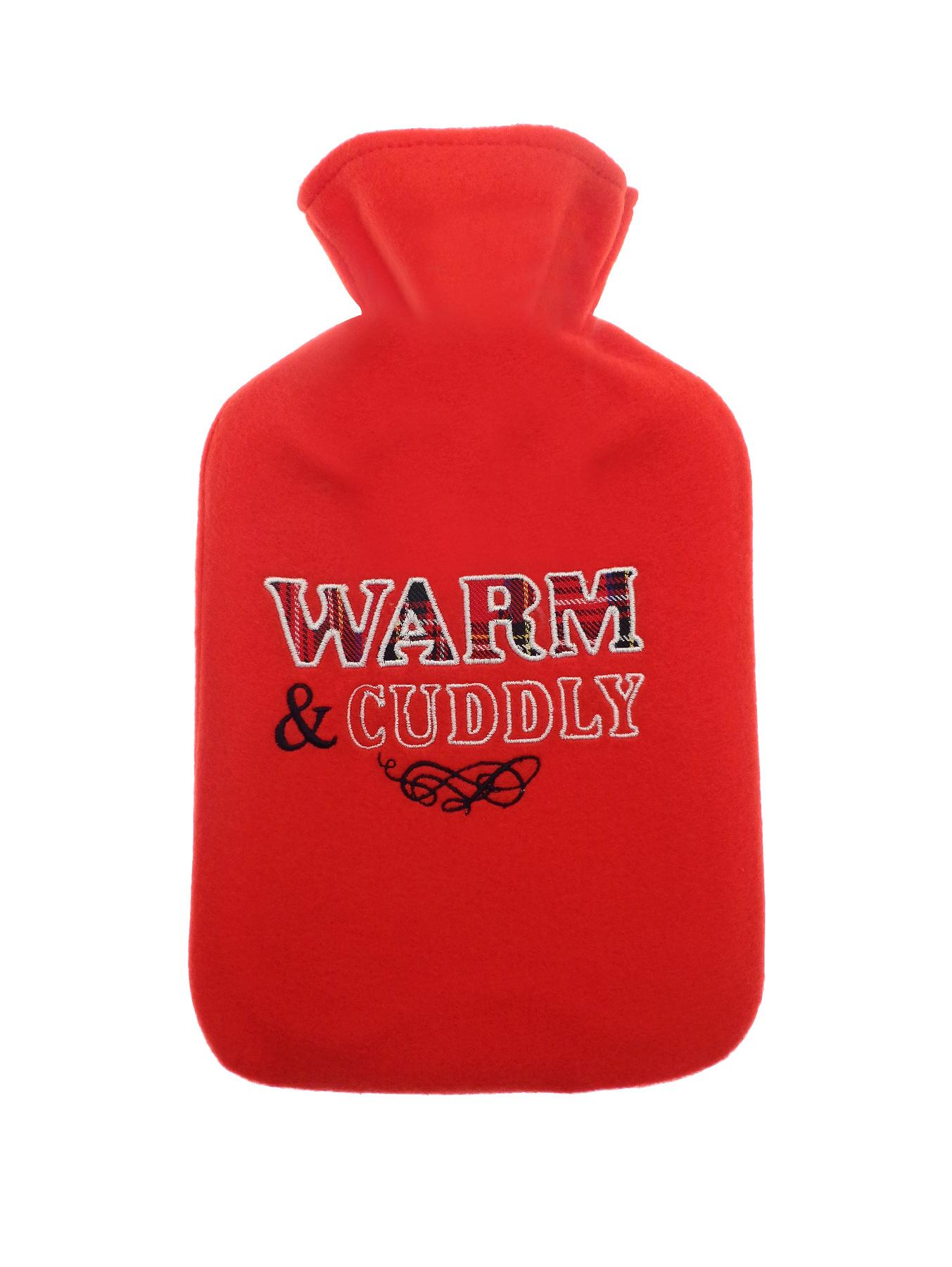 Warm and Cuddly Hot Water Bottle