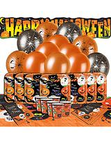 Halloween Spooky Smiles Party Kit for 16 people
