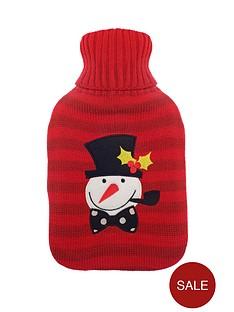 mr-snowman-hot-water-bottle-red