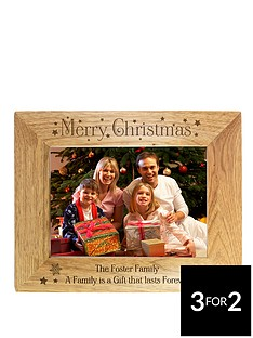 personalised-christmas-wooden-photo-frame
