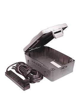 british-general-weatherproof-box-with-4-socket-8m-extension-lead-black