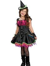 Halloween Girls Rockin' Out Witch Costume - Childs Costume