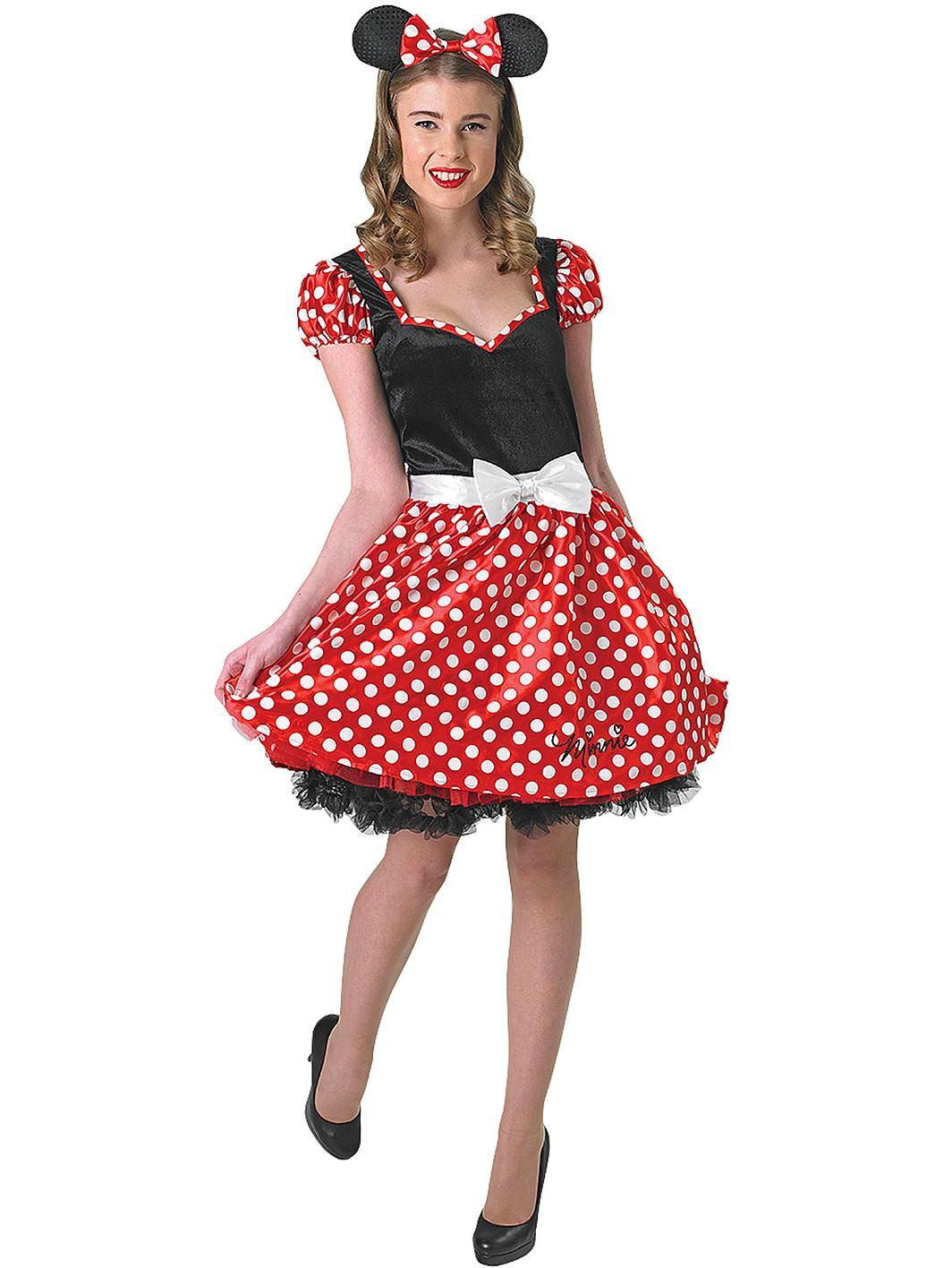 disney sassy minnie mouse adult costume. Black Bedroom Furniture Sets. Home Design Ideas