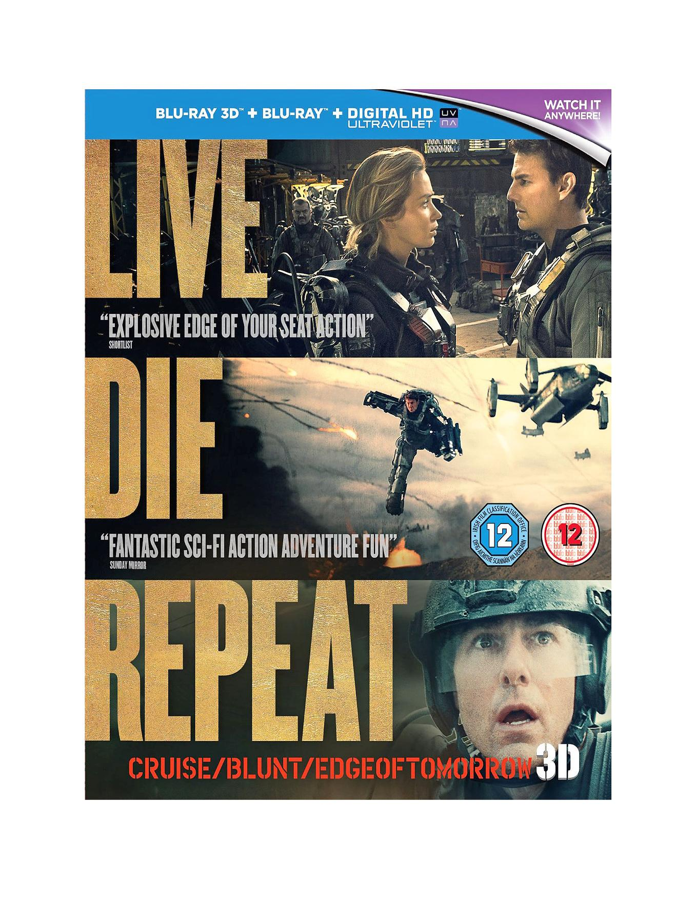 Edge of Tomorrow - Blu-Ray 3D at Very, from Littlewoods