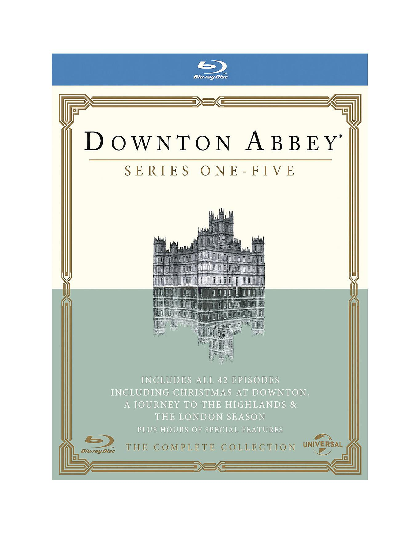 Downton Abbey - Series 1-5 - Blu-Ray Boxset