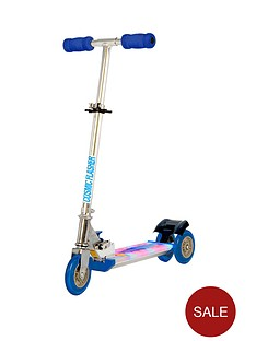 ozbozz-cosmic-light-scooter-black-and-blue