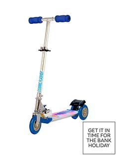 ozbozz-cosmic-light-scooter-black-and-blue
