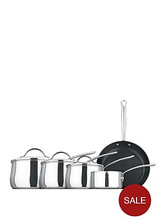 prestige-bell-shaped-5-piece-stainless-steel-pan-set