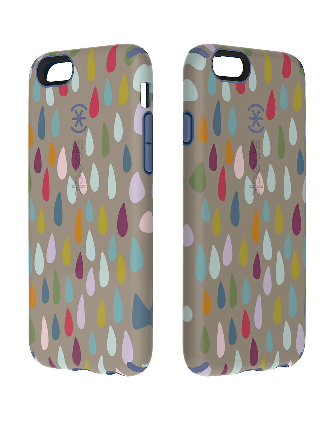 Speck iPhone 6 CandyShell Case - Inked Rainbow Drop Pattern
