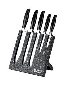 russell-hobbs-granite-5-piece-knife-block-set