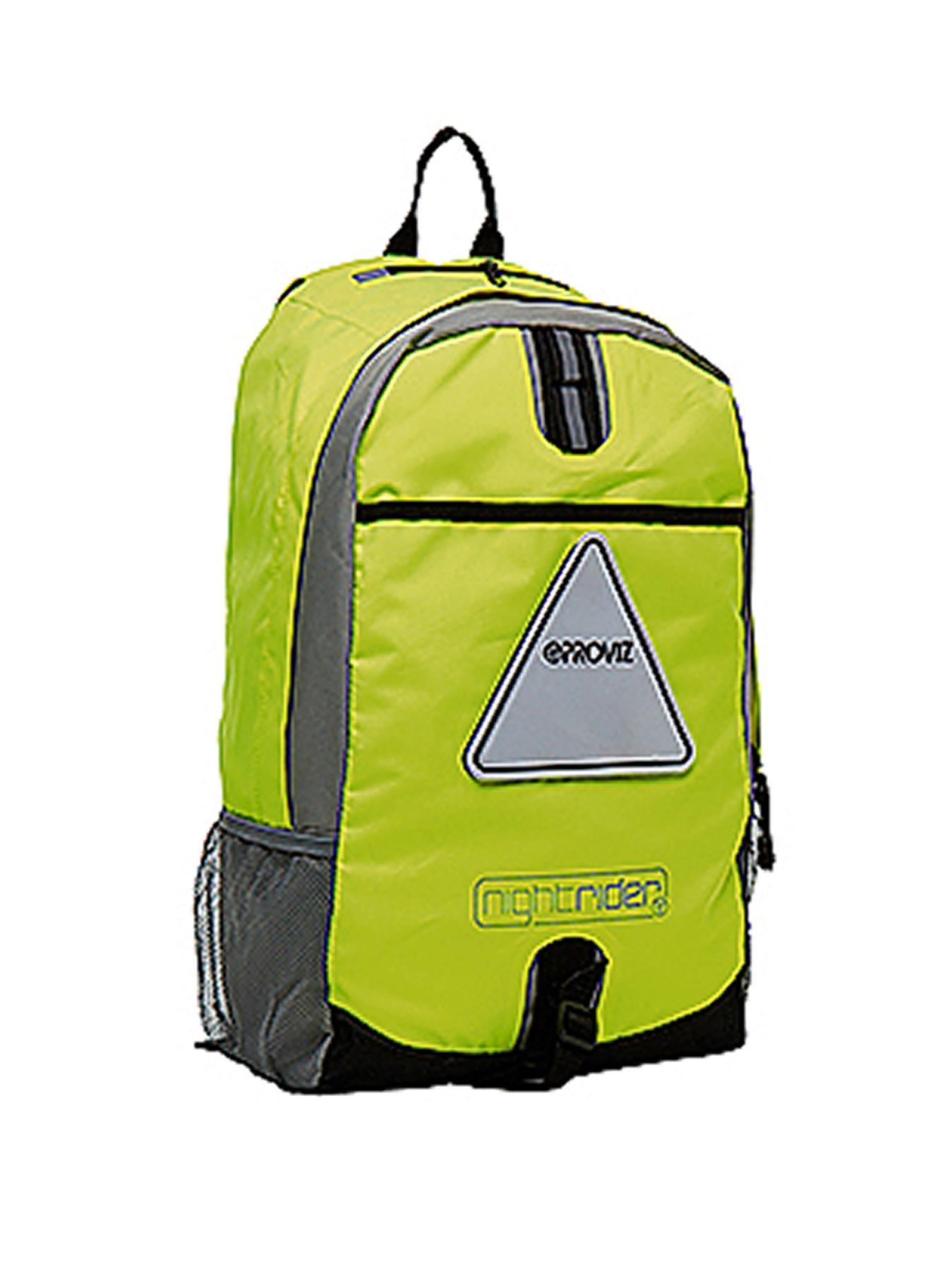 PROVIZ Triviz Nightrider Large 30-Litre Rucksack - Yellow