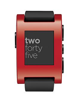 Pebble Smart Watch - Red